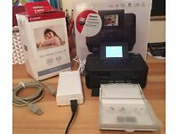 Canon Photo Printer - in original box and with two cartridges/photo paper supplied