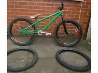 DMR Transition custom build jump bike
