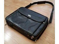 "Genuine Original ANTLER 17"" Inch Leather Laptop Briefcase Case Satchel Business Document Bag"