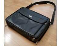 Genuine ANTLER 17 Inch Leather Laptop Briefcase Case Satchel Business Document Bag