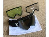 aee73cbd14b2 Electric Snowboard Ski goggles EGX + 2 spare lens