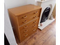 Mid Century G Plan E Gomme Chest Of Draws.
