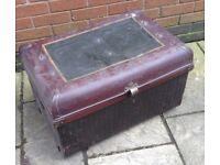 Metal vintage chest