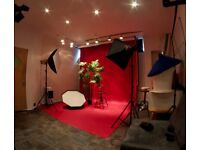 From £10/hr, £80/full day 'CHEAPEST IN LONDON' Studio Hire - Photography, Photo, Video - inc. Lights