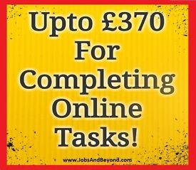 -Earn £370 Completing Our Simple Online Tasks - Start Earning Money Today (Online Surveys From Home)