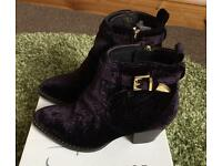BRAND NEW** Leather boots