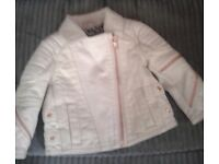 River island girls biker jacket age 0-3 months