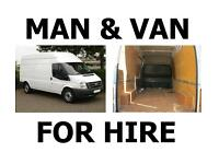 Man and a Van Hire for Sheffield, Chesterfield, Rotherham - Friendly, Affordable and Reliable