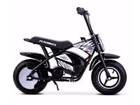 FunBikes MB 43cm 250w Electric Kids Monkey Bike 5 Colours Ride On