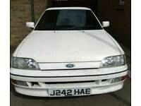 '92 ESCORT 1.8 XR3i CABRIOLET. EXCELLENT PROJECT, 75k MILES, RUNS VERY WELL, DRIVES AS IT SHOULD.!!!