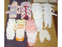 Joblot Tiny Baby Clothes