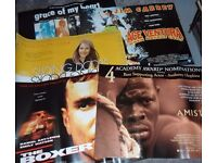 Original UK Quad Cinema Posters - 9 x MINT condition Posters from the 1990s - JOB LOT