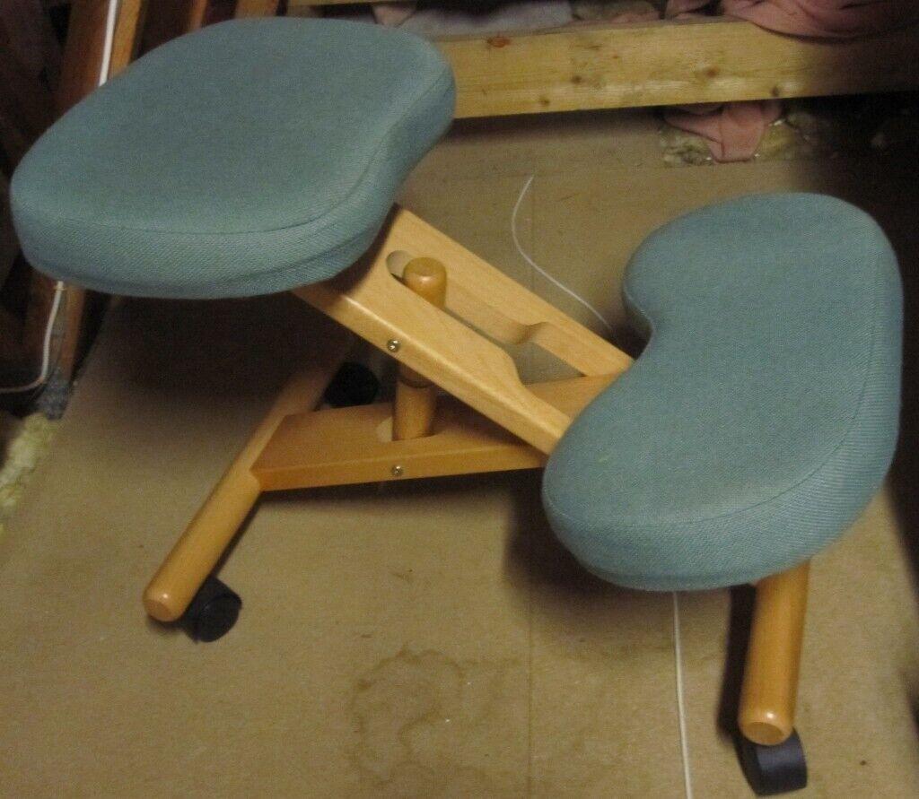Pleasing Wooden Kneeling Chair For Bad Backs In Ipswich Suffolk Gumtree Frankydiablos Diy Chair Ideas Frankydiabloscom