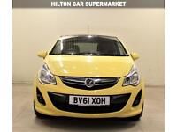 VAUXHALL CORSA 1.2 LIMITED EDITION 3d 83 BHP + RACER YELLOW + AC + AUX + MP3/CD (yellow) 2011