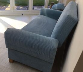 2 seater settee. Ideal for a small space or children's room. Measurements below