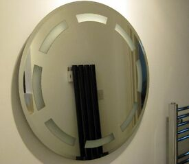 LARGE ROUND BATHROOM MIRROR 63cms