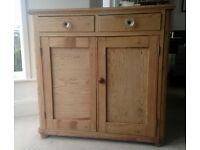 Vintage Pine Kitchen Cupboard