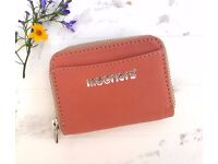Nude Leather purse wallet. New