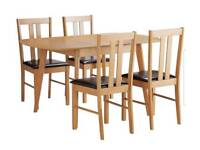 Brand new extendable table dining set