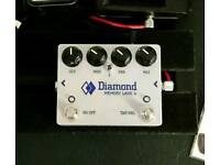 Diamond Effects Memory Lane Junior Analogue Delay w/ tap tempo pedal