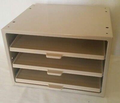 Hardware Parts Storage Cabinet 3 Drawer Steel Organizer