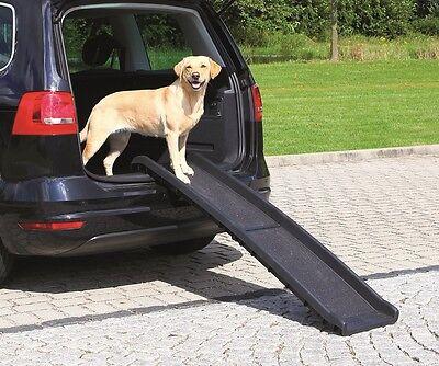 HUNDERAMPE Klapprampe - Einstiegshilfe fürs Auto mit Anti-Rutsch-Beschichtung