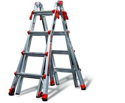 Little Giant Ladder 17-ft Aluminum 300-lb Telescoping Type Ia Folding Ladders
