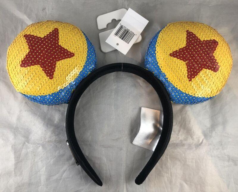 Disney Park World of Pixar Ball Toy Story Luxo Loungefly Mouse Ears Headband Hat