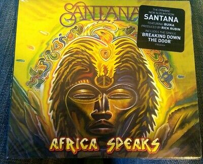 Santana - Africa Speaks [New CD] GREAT GIFT!! One of the best CDs of
