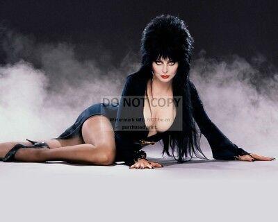 ELVIRA, MISTRESS OF THE DARK - 8X10 HALLOWEEN PUBLICITY PHOTO (OP-229) - Elvira Darks Halloween