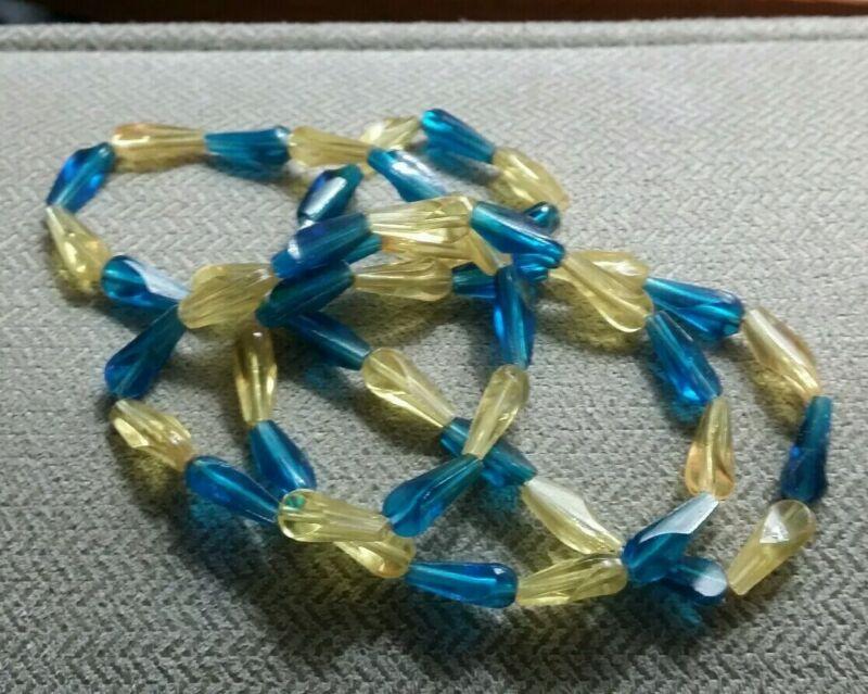 Vintage plastic Mardi Gras Beads 1960s Or 1970s