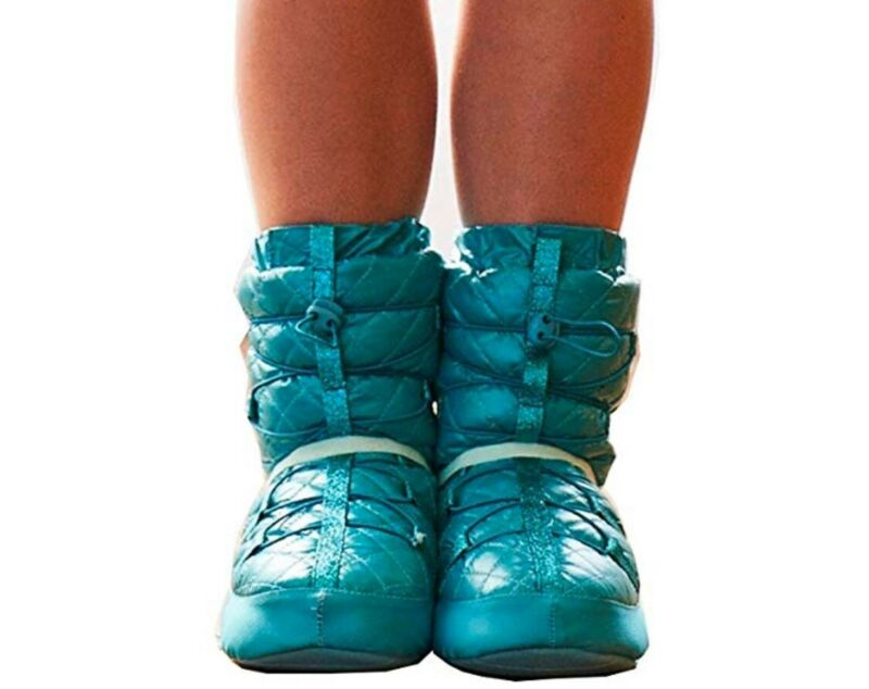 BRAND NEW- Capezio Basic Technique Warmup Booties, girls, size Small. Turquoise.
