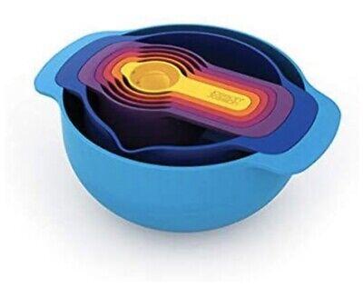 Joseph Joseph Multi Nest 7 Plus Nesting Set* mixing bowl measuring cups