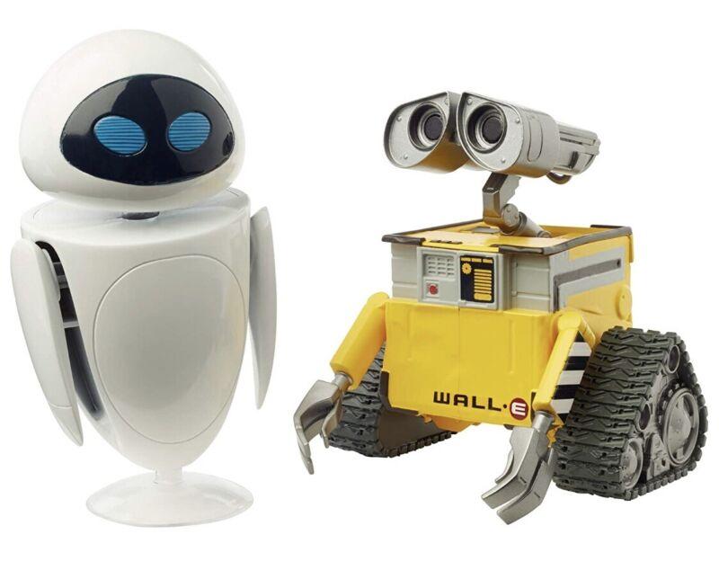 Disney Pixar Wall-E And Eve Action Figure NEW Toys Pixar Movie