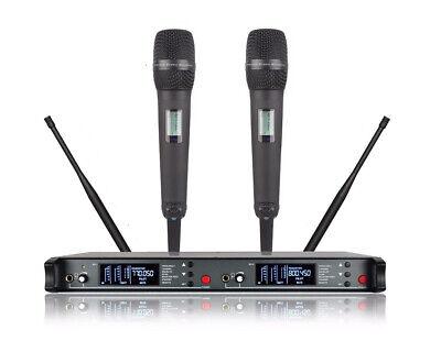 Wireless Mics For Church Vocal Handheld For Sennheiser Black SKM9000