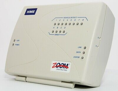 Hme Zoom Drive Thru Timer With Vehicle Detector Tsp40 A.2.00 G27683-1aa Rev A