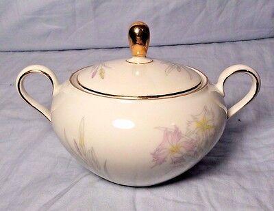 Vintage Seltmann Weiden Bavaria West Germany LIANE 23566 Porcelain Sugar Bowl