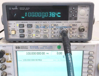 Hpagilent 53131a 225 Mhz Universal Frequency Counter