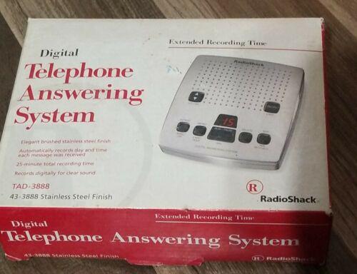 Radio Shack Digital Telephone Answering Machine System Model