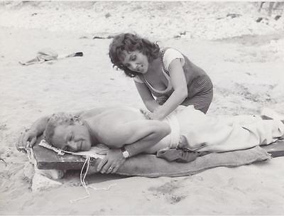 Lollo & Jules Dassin Vintage Movie Still