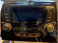 JVC DAB Radio 2DIN mit Antenne für Peugeot Boxer 250 Facelift ab 14 Klavierlack