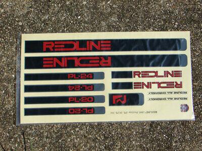 Old school bmx Redline PROLINEII decal set