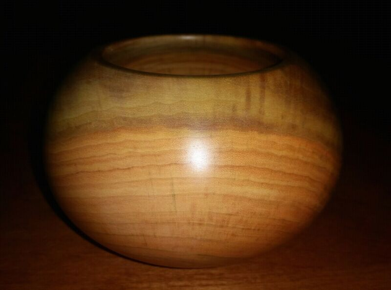 Dovecote Woodworking Chittum Cascara Buckthorn Hand Turned Bowl