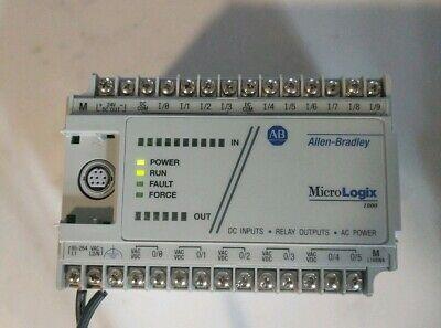 Allen-bradley 1761-l16bwa Micrologix 1000. Tested.