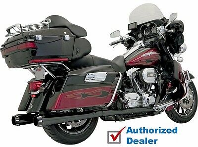 Bassani Black Bagger Stepped True Duals With Power Curve Exhaust Harley Touring