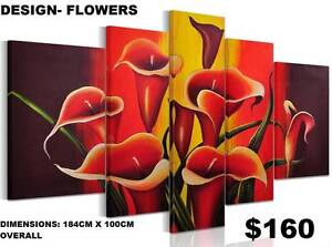 Canvas Prints ! 20 New Designs! Modern Exclusive Framed Paintings Baldivis Rockingham Area Preview