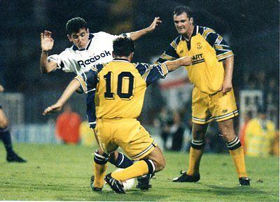 Original Press Photo Bolton Wanderers  v Oxford United Owen Coyle 31.8.1993