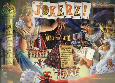 JOKERZ Complete LED Lighting Kit custom SUPER BRIGHT PINBALL LED KIT
