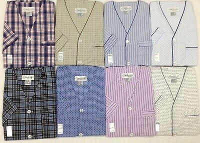 NEW Men's 2PC Comfort Zone Short Sleeve/Short Leg Pajama Set  Size S / 4 XL