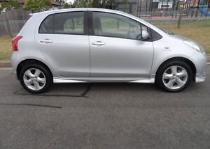 Toyota Yaris 2007 auto Franklin Gungahlin Area Preview
